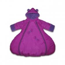 Комбинезон зимний Капелька (Фиолетовый)