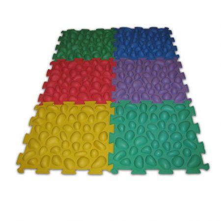 Массажный коврик 6 пазлов
