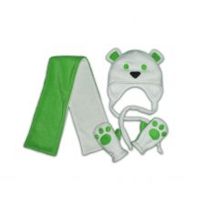 Мишка зеленый