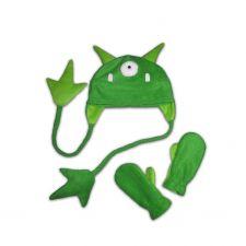 Монстр зеленый