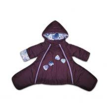 Комбинезон зимний Умка (Фиолетовый)